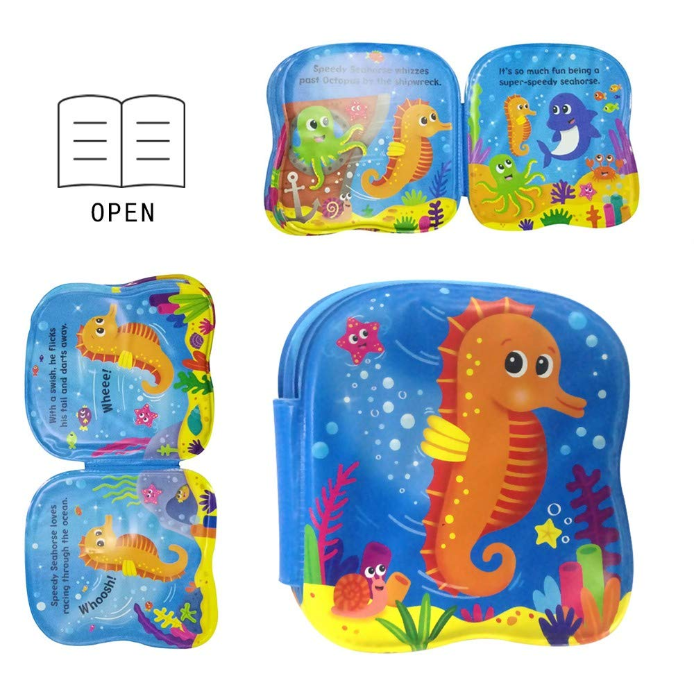 Inflatable Baby Pad Set 7pcs, Inflatable Playmat Inflatable Water Play Mat for Children and Infant by Sunshinehomely (Image #7)