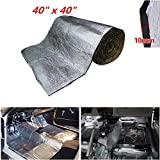 thermal acoustic insulation - Shinehome 10mm/394mil Car Sound Deadener Mat, Heat Shield Thermal Insulation Mat, Soundproof Insulation, car sound deadening material, 40