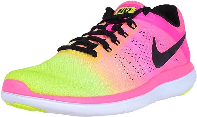 Nike Flex 2016 RN OC Scarpe da Corsa da Uomo, Nero (Multi