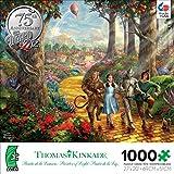 Ceaco Thomas Kinkade Follow The Yellow Brick Road Puzzle - 1000 Pieces
