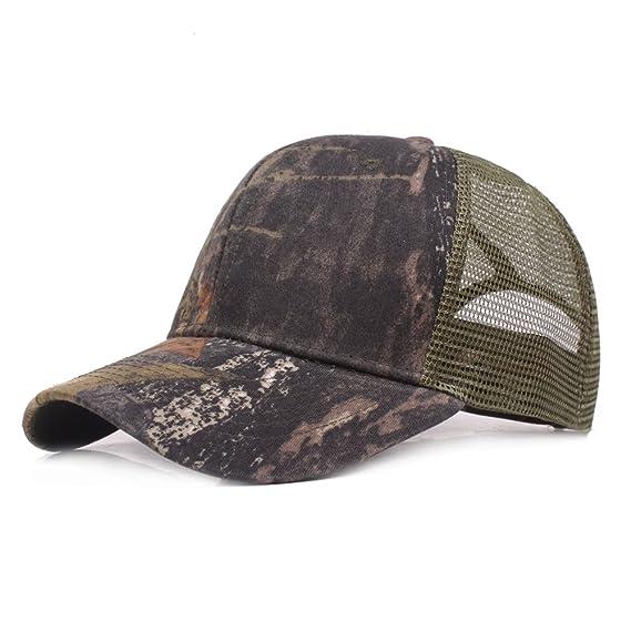 Gorra de Béisbol Ocio Retro Hat Gorra de Jungla para Hombre Sombrero de Sol  Deporte al 375e9ad1af9