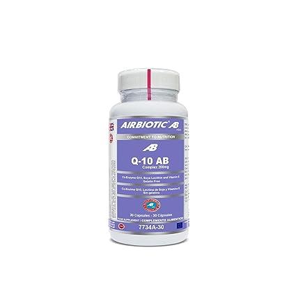 Airbiotic, AB - Q-10 AB Complex, Multinutrientes, Coenzima ...