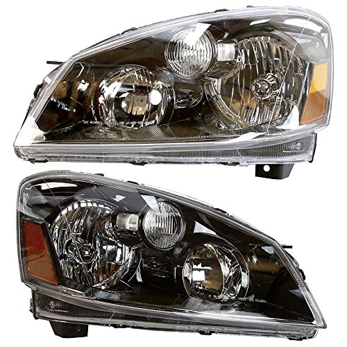 Prime Choice Auto Parts KAPNS10092A1PR Pair of 2 Halogen Headlights
