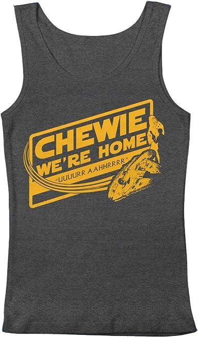 GEEK TEEZ Star Wars Chewie Were Home Mens Hoodie