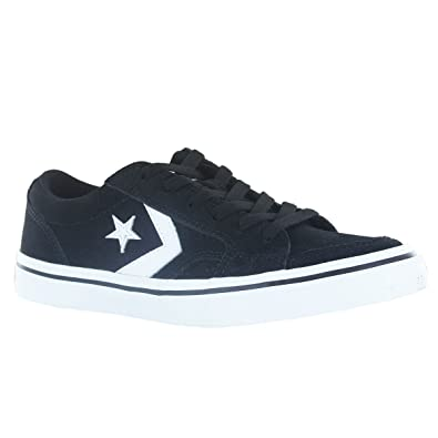 fe95d0b4c46fb3 Converse Tobin OX Black White Suede Mens Trainers Size 6 UK  Amazon.co.uk   Shoes   Bags