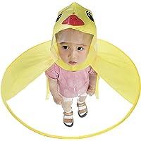 Hurinan Anatra per Bambini Impermeabile UFO Raincoat Children Umbrella Cartoon Cloak per Bambini
