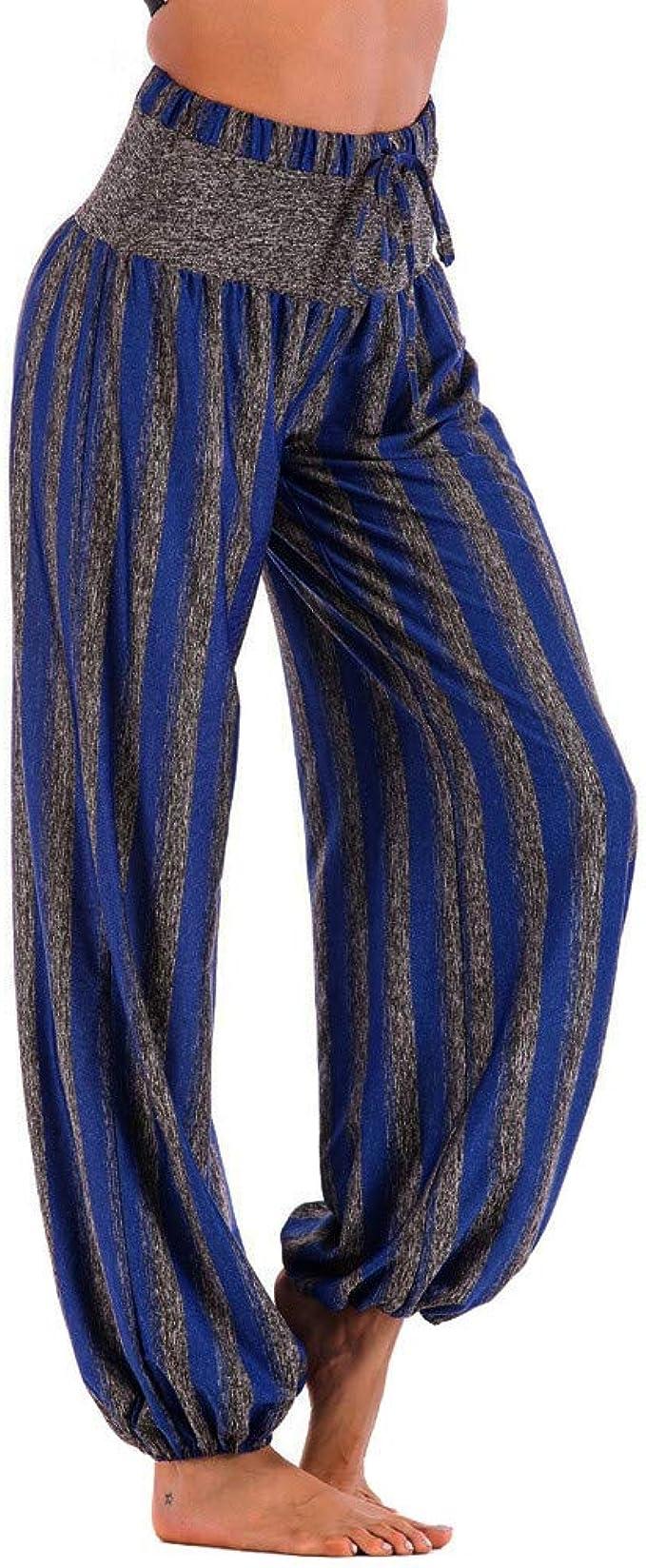 Amazon.com: OTTATAT Pantalones de yoga para mujeres, hombres ...