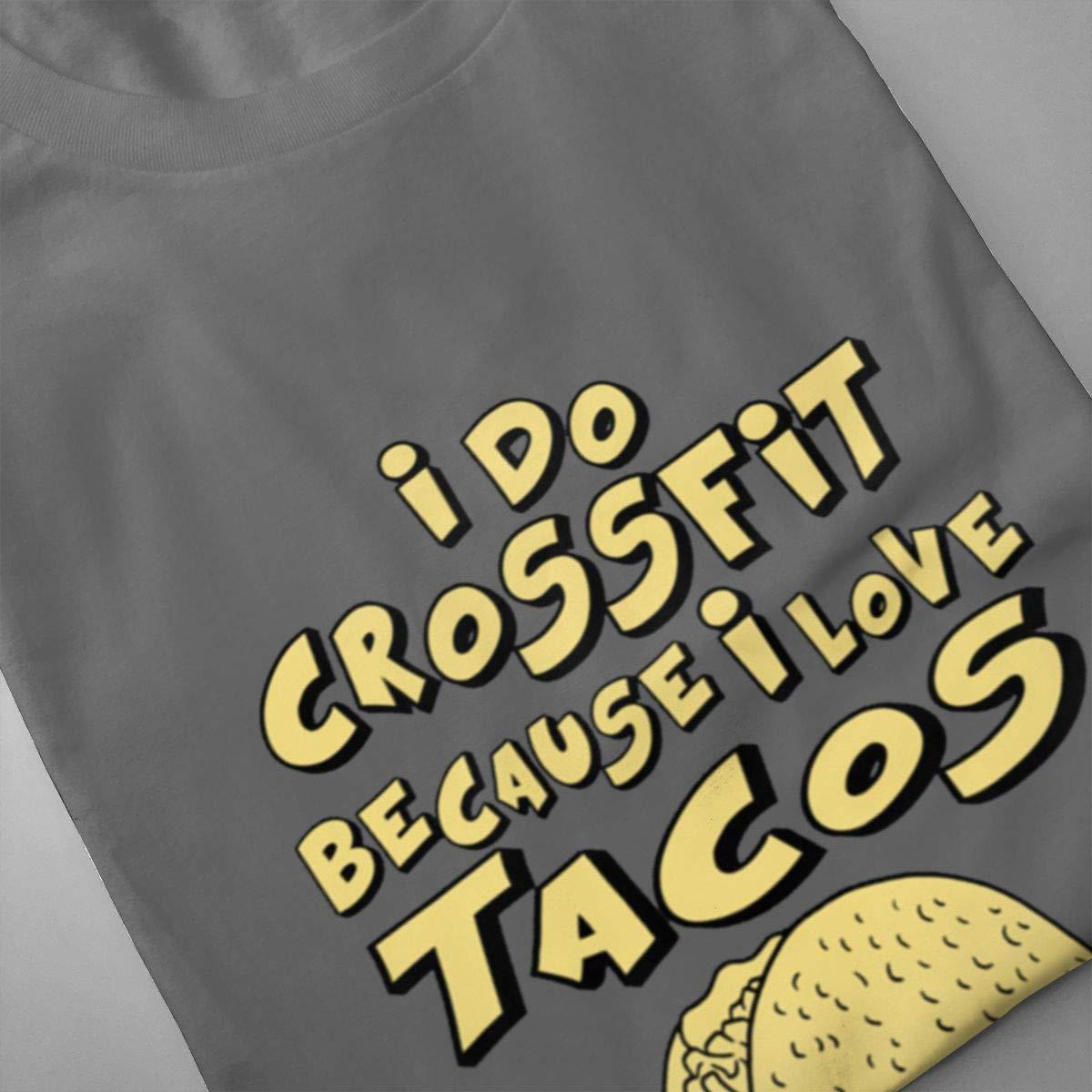 Amazon.com: VIIHAHN I Do Crossfit Because I Love Tacos ...