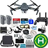 DJI Mavic Pro With 12MP/4K Camera 2 BATTERY (TOTAL) BUNDLE (Carry Case)