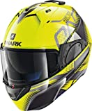 Shark Casco modulable evo-one 2 keenser amarillo negro YKA talla M