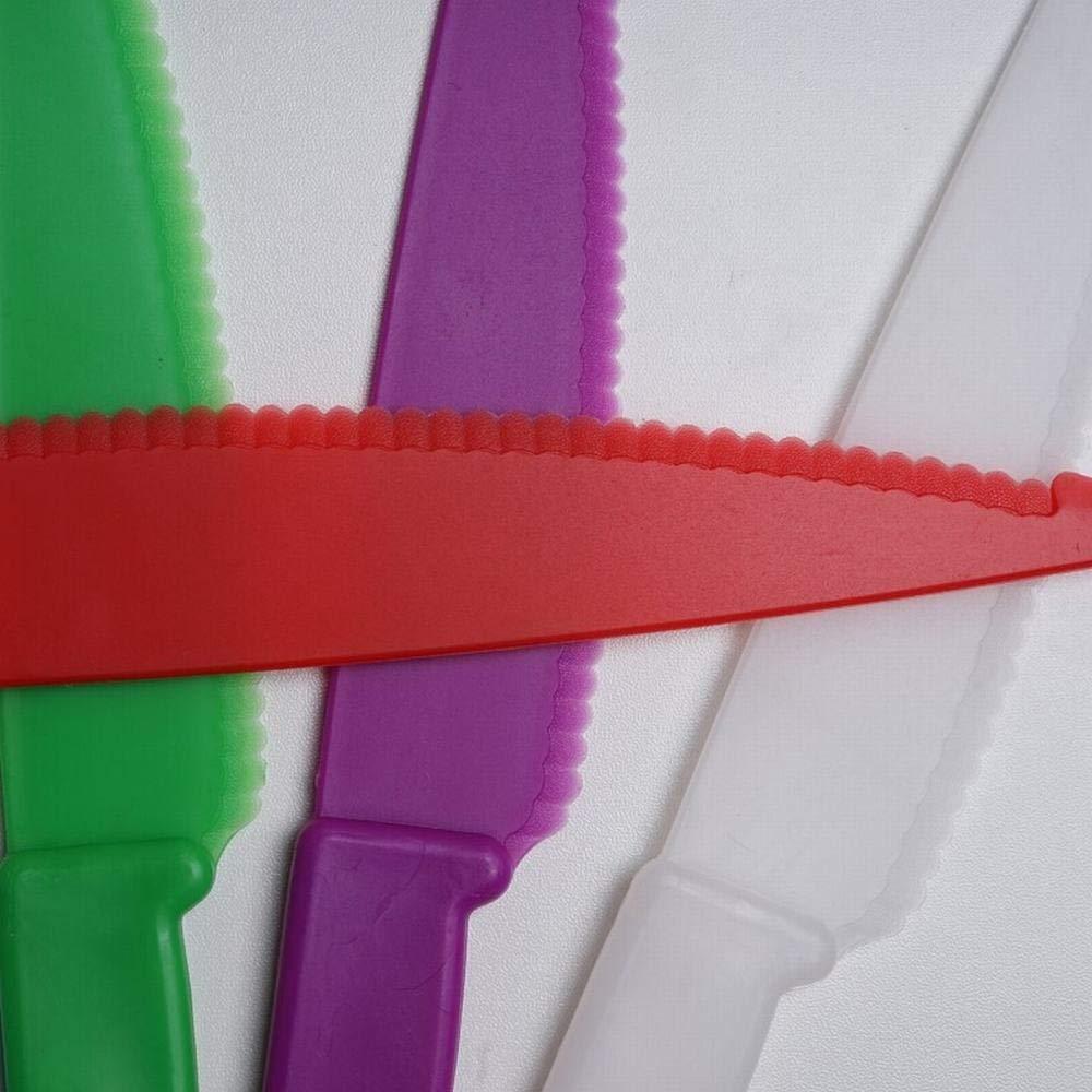 Amazon.com: Cuchillo de plástico para cocina con dientes de ...