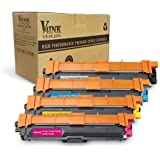 V4INK Compatible 4 Pack Toner Cartridge Replacement for Brother Printer HL3140CW 3150CDW 3150CDN 3170CDW DCP9020CDW MFC9130CW 9140CDN 9330 9330CDW 9340 9340CDW C9330CDW FC9330CDW Brother TN241 TN245