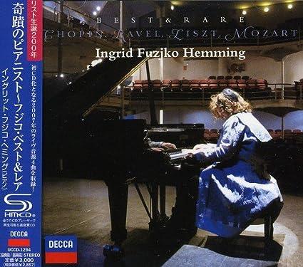 Amazon | 奇蹟のピアニスト~フジコ・ベスト&レア | イングリット ...