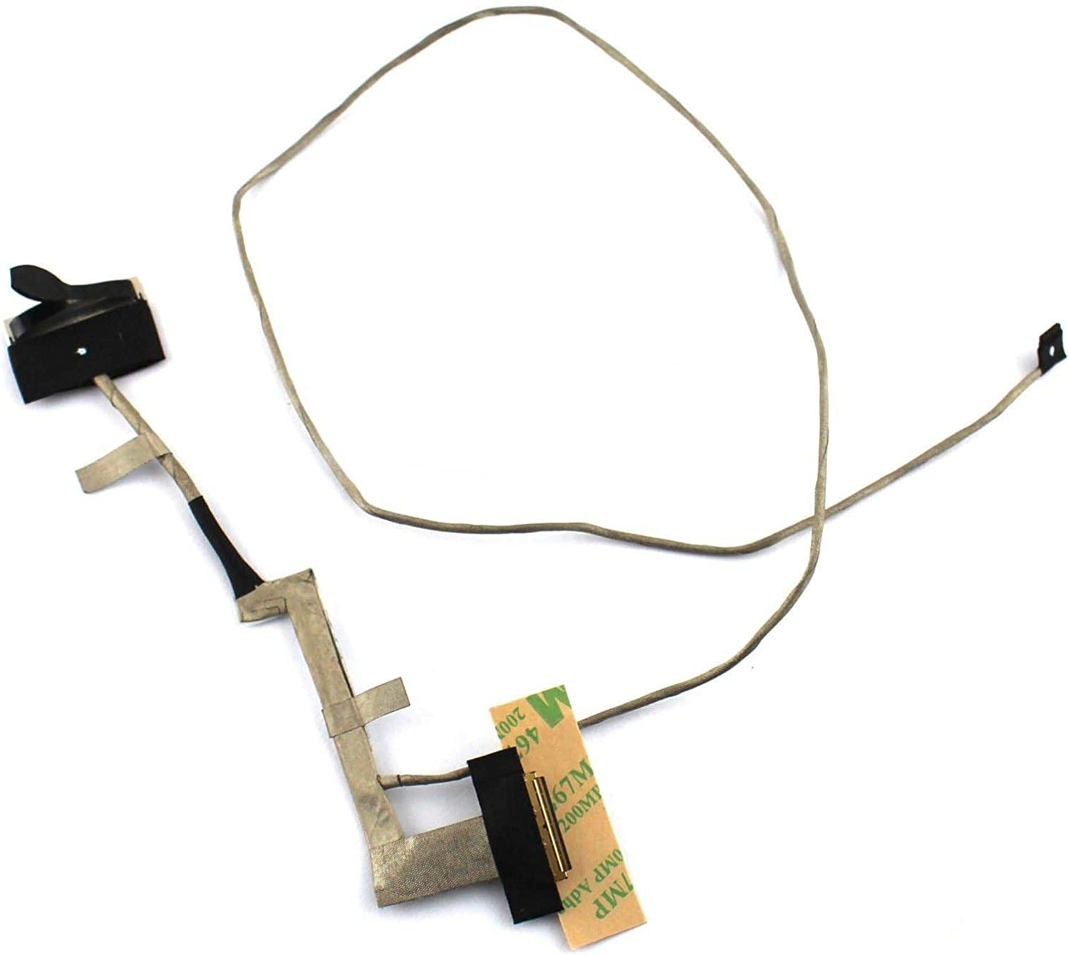 Nbparts New/Oirg for Lenovo Ideapad Y50 Y50-70 FHD 19201080 LCD Video Cable DC02001YQ00 ZIVY2 LVDS