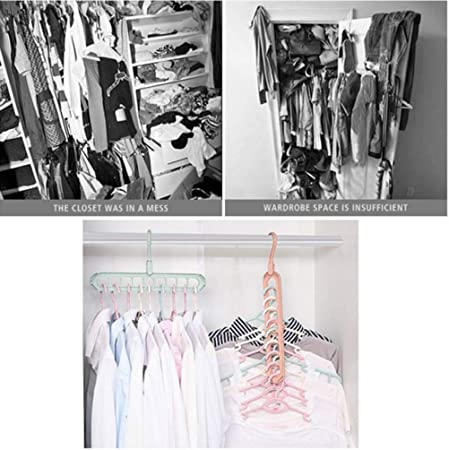 ATLASWAVES™️ MAGIC CLOTHES HANGER 10Pack USA STOCKFree Shipping 2Days