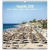 Grupo Erik editores kalm1808Calendar Tourist Medium 2018with Design Tenerife