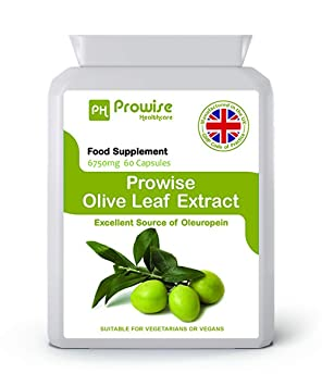Prowise Olive Leaf Extract 6750 mg - 60 Capsules