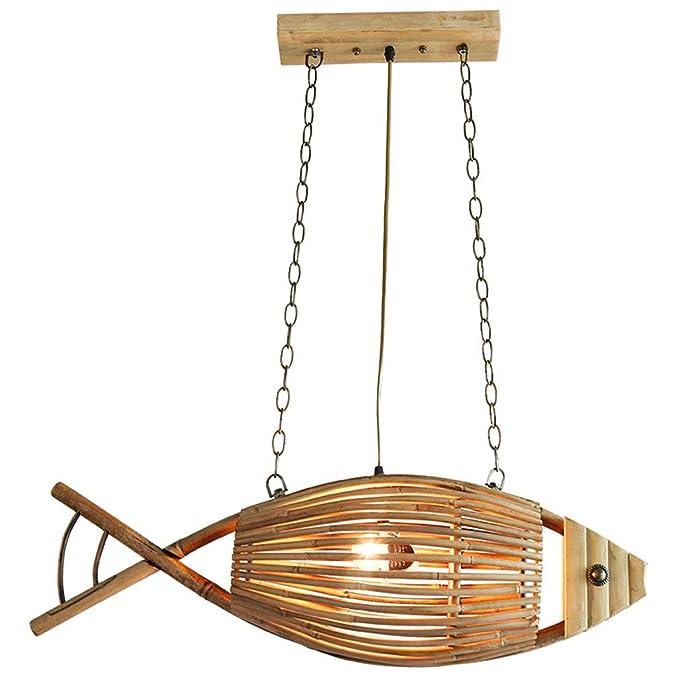 FRF candelabro- Araña de Pescados Retro Creativa del sudeste ...