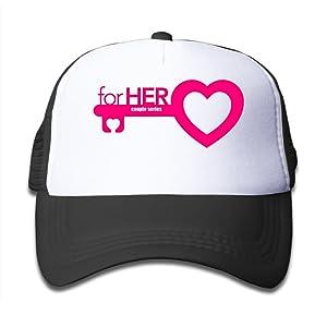 Kid's Couple Lover Mrs Funny Valentine Gift Adjustable Mesh Cap Sun Hat