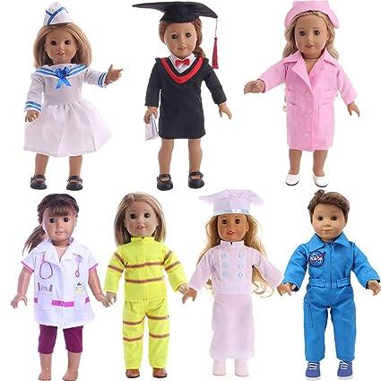 Amazon.com: Fleta - Disfraz de 7 piezas de Doctor, enfermera ...