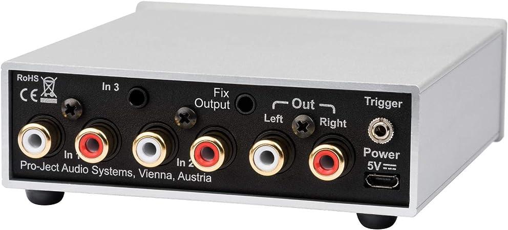 Pro Ject Pre Box S2 Analogue Audiophiler Stereo Vorverstärker Schwarz Audio Hifi