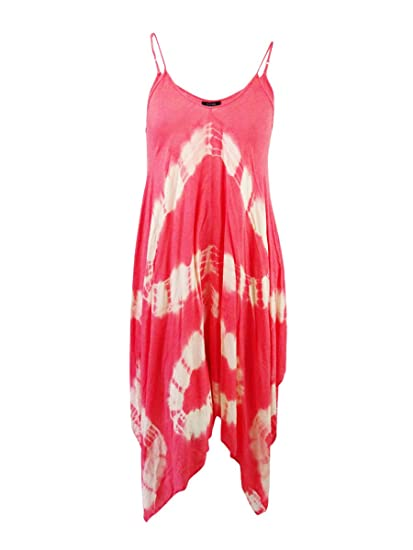 d5ee1f83d6b Image Unavailable. Image not available for. Color  Raviya Women s Plus Size  Handkerchief Hem Maxi Dress Coverup ...