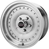 """American Racing Outlaw I AR61 Machined Wheel with Clear Coat (15x10""""/5x5"""")"""