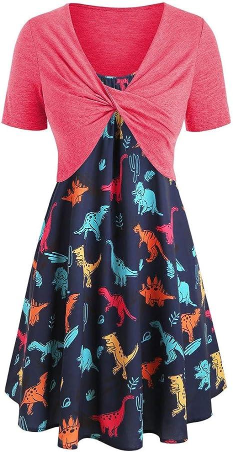 Vintage Ärmellos Rundhalsausschnitt Falten Spitze Spleißen A-linie Kleid Damen