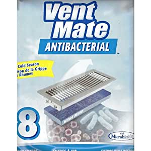 8 Vent Mate Airvent Antibacterial Control Filters Pack Of