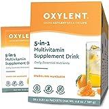 Oxylent, 5-in-1 Multivitamin Supplement Drink, Mandarin, 30 Packet Box