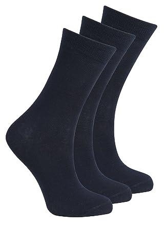ce129f7a943cf Bay 6 - Kids Plain Cotton Rich Short School Socks: Amazon.co.uk: Clothing