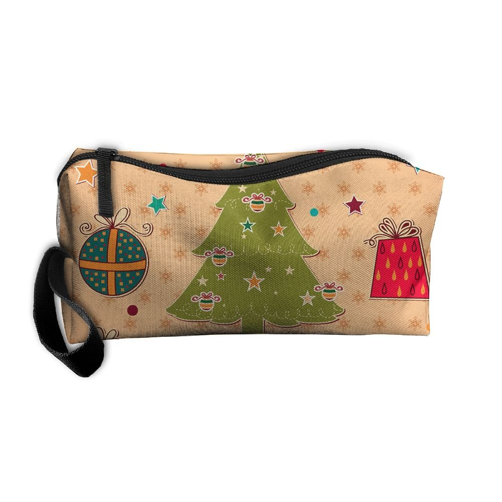 527f82a91d0d best Vcxgvbvc Cosmetic Bag Christmas Tree Travel Makeup Bag ...