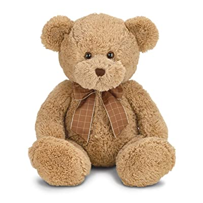 Bearington Bensen Brown Plush Stuffed Animal Teddy Bear, 16 inches: Toys & Games