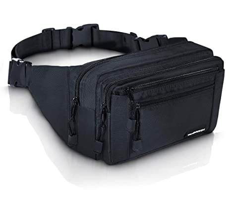 5eb26d68bc14 Amazon.com | VAN BEEKEN Fanny Pack for Men Women Belt Bag Waist Bag Hip Bag  I Waterproof Bum Bag I Supreme Waist Pack Phanny Pack for Hiking Travel  Running, ...