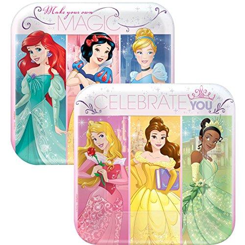 - Disney Princess Dream Big Square Cake Dessert 7