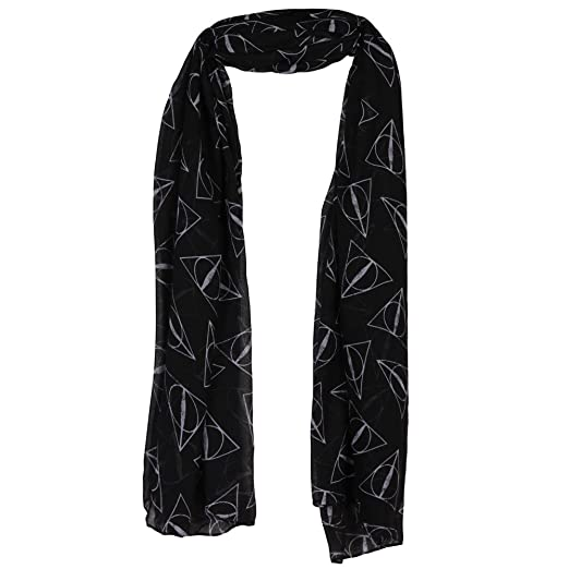 Harry Potter Deathly Hallows Viscose Scarf