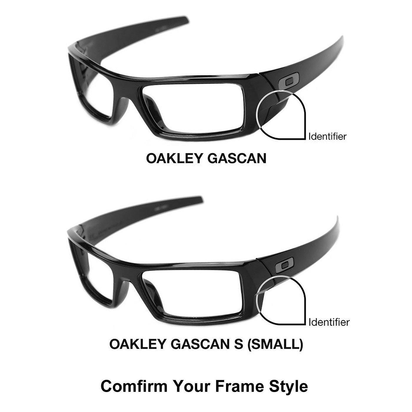ikammo lentes polarizadas de recambio para Oakley Gascan gafas de sol (no fit Gascan S) - 9 opciones disponibles, Púrpura: Amazon.es: Deportes y aire libre