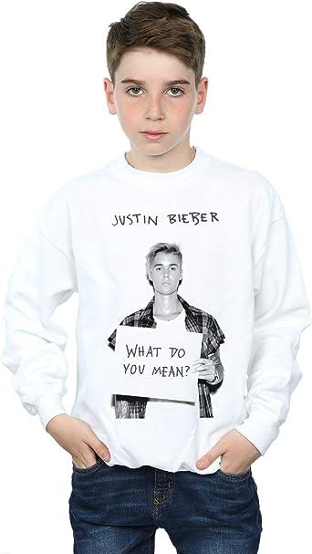 Justin Bieber niños What Do You Mean? Camisa De Entrenamiento