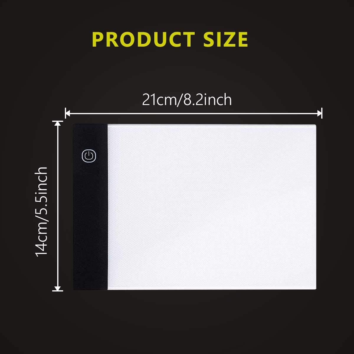 Apply to Flip Book Kit Cartoon Flipbook Creation USB Powered Light Box Dimmable Brightness Light Board Ligtek Mini LED Light Pad for Animation