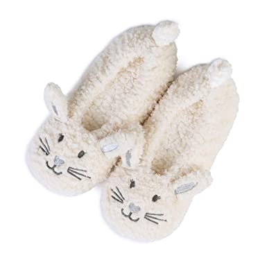 9cb820a4d807 totes Ladies Novelty Knit Footsie Slipper Socks  Amazon.co.uk  Clothing