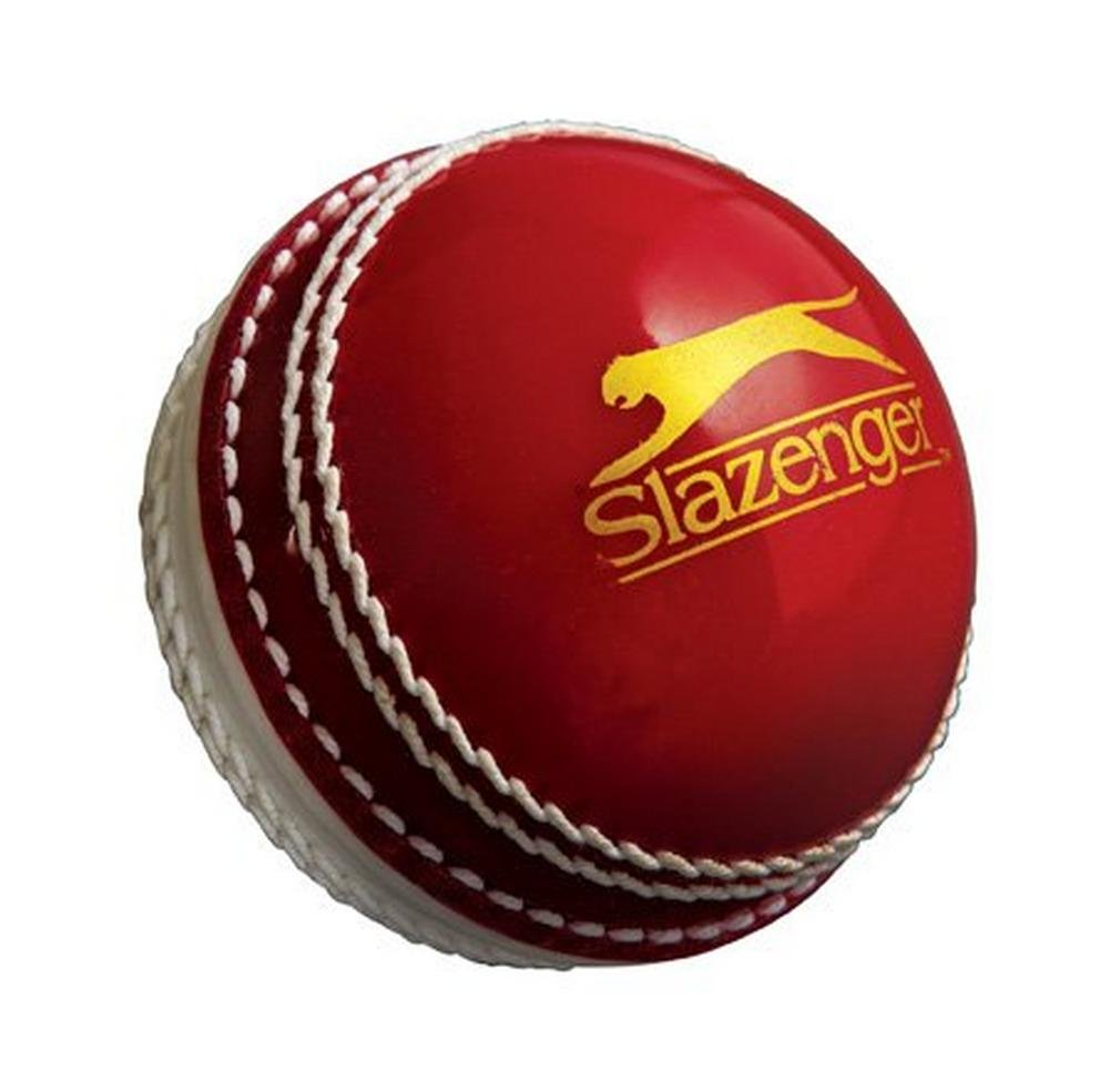Slazenger Training Cricket-Ball Weiß/Rot 8845.54422