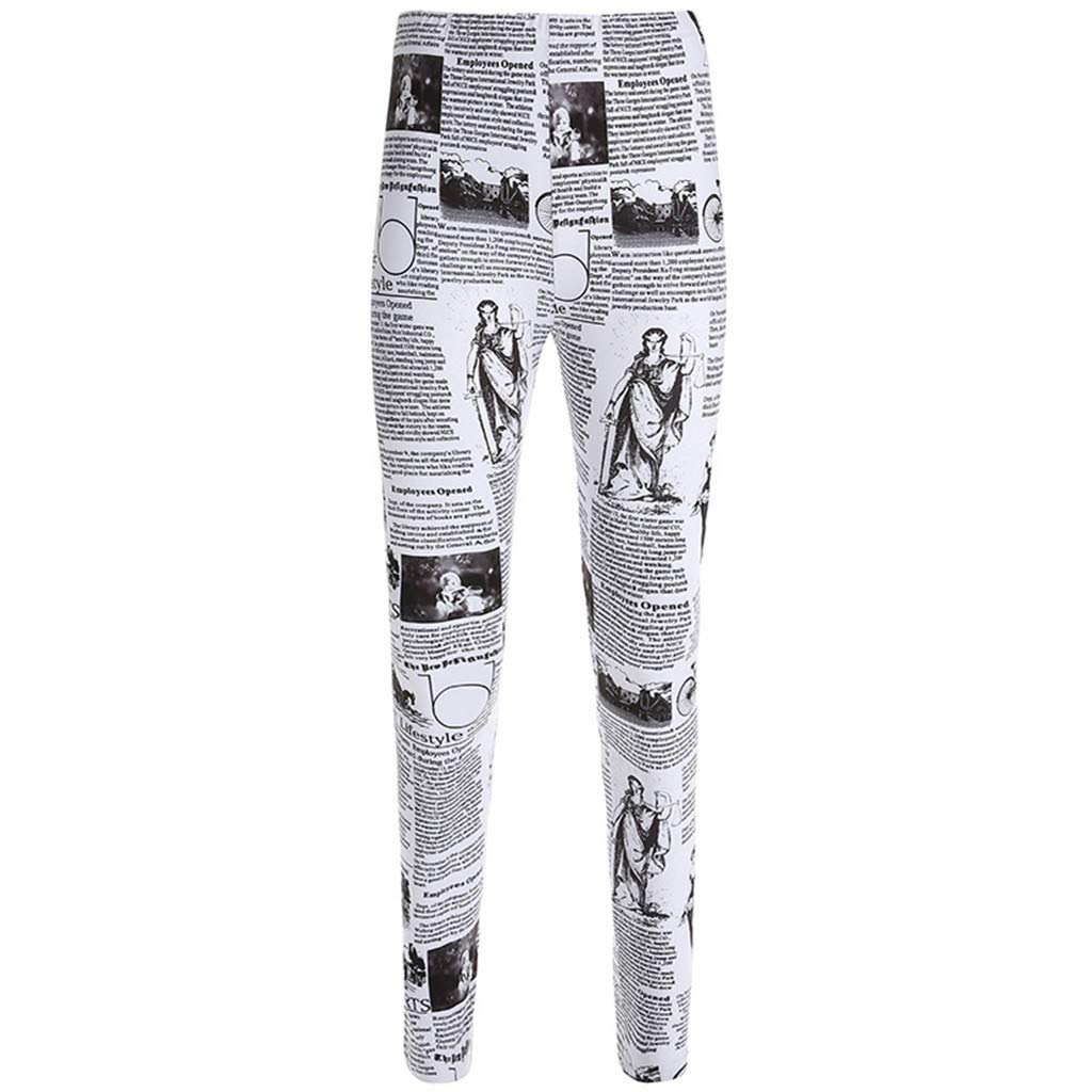 Dream Room Womens Yoga Workout Running Leggings Pockets Tummy Control Fitness Sports Gym Athletic Pants