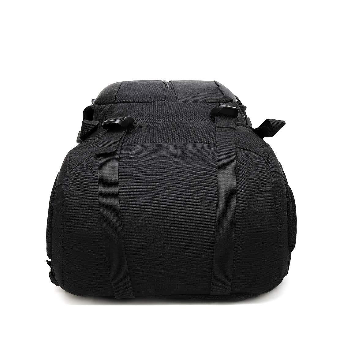 marr/ón JOTHIN 40L Deportes y Aire Libre Mochilas de Camping Nylon Mochila T/áctica Militar Grandes Trekking Backpack Impermeable Hombre Bolsa de Senderismo