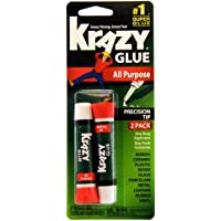 Deals on 2-Count Krazy Glue KG517 Purpose Super Glue 2 Grams