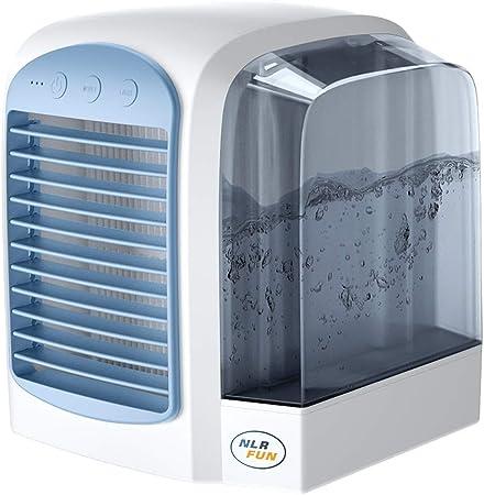 YUKAKI Enfriador de Aire Enfriador de Ventilador de Espacio Personal Enfriamiento /ártico USB La Forma r/ápida y f/ácil de Enfriar el Ventilador para la Oficina dom/éstica