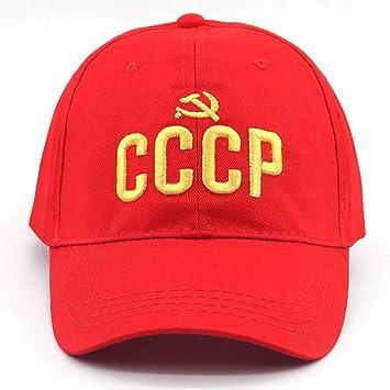 YUANBAOG CCCP URSS 3D Bordado Rusia Snapback Gorra de béisbol ...