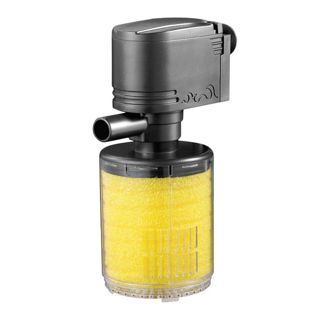 ONEVER 3 in 1 mini acquario Filter Spray Fish Tank Pompa sommersa ossigenazione