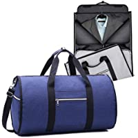 Waterproof Travel Bag Mens Garment Bags, Maleta Porta Traje Carry On Viaje De Negocios o gym para hombres (Azul)