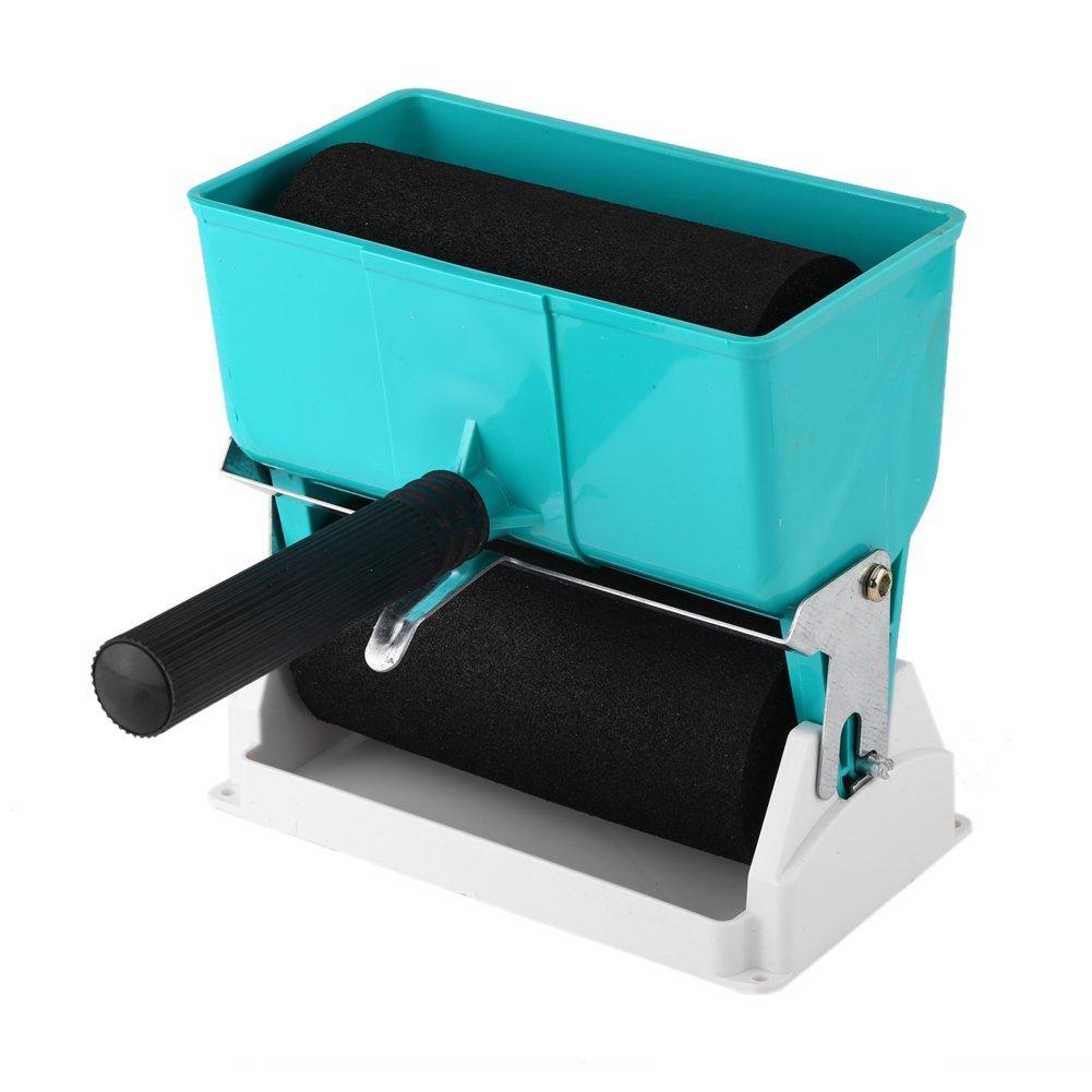 Zerodis 180mL/320mL Portable Glue Applicator Roller DIY Handheld Adhesive Roller for Carpenter Woodworking(6inches)