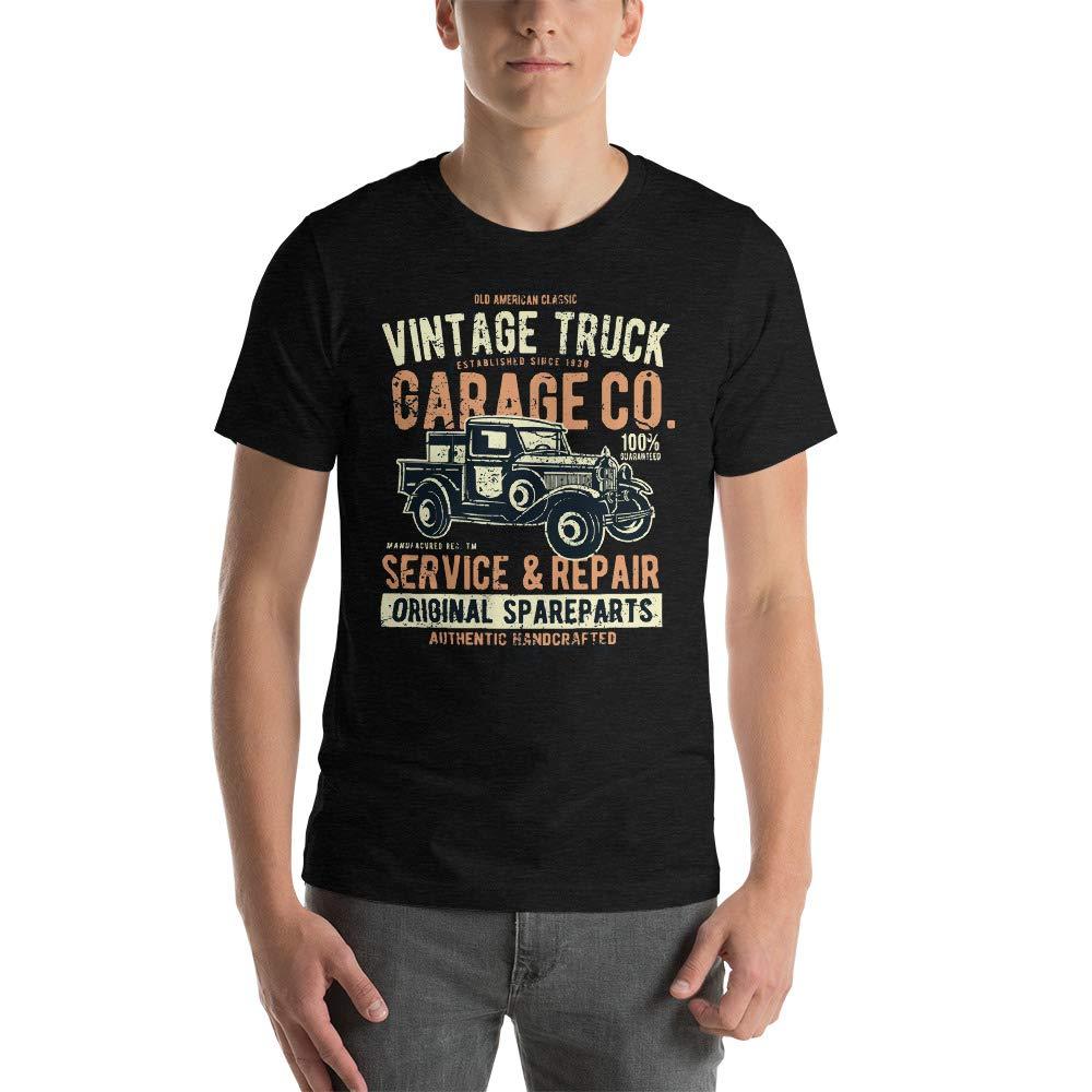 Abundant Life Co Vintage Truck Garage Short-Sleeve Unisex T-Shirt